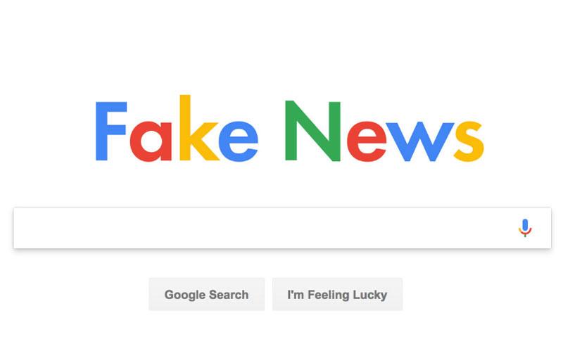 פייק ניוז גוגל